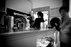 _NIK1335bn (nikdanna) Tags: people blackandwhite coffee café breakfast bar pentax persone caffè bianconero colazione interno7 caffetteria nikdanna