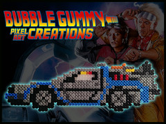 Delorean (Bubble Gummy pixel art) Tags: art film car movie beads back al geek peliculas coche pixel future pixelart regreso delorean hama perler backtothefuture futuro mcfly 8bits regresoalfuturo hamabeads perlerbeads beadsprite bubblegummy bubblegummypixelart