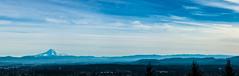 Blue Oregon (Ben McLeod) Tags: blue sky panorama haze watertower bluesky mthood