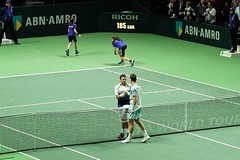 The Handshake: Wawrinka-Berdych (romanboed) Tags: world leica holland green netherlands dutch sport court rotterdam tour atp indoor player m professional arena stan tennis tournament final winner match handshake tomas 500 50 summilux singles ahoy 240 abn amro 2015 groundstroke berdych wawrinka