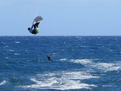 Kiteboarding (Risager) Tags: sea kiteboarding grancan elburrero