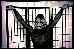 Sapphire Philadelphia Studio Exotic Black Outfit Indiglow Aug 1994 008 (photographer695) Tags: bw black philadelphia naughty studio outfit models exotic babydoll 1994 aug sapphire