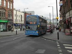 992, Nottingham, 19/02/14 (aecregent) Tags: nottingham 45 scania nottinghamcitytransport optare eastlancs 992 omnidekka n230ud 190214 bd10bdo