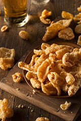 Homemade Fatty Pork Rinds (brent.hofacker) Tags: food yellow asian thailand cuisine pig rind fry junk crackling skin fat spice hard deep tasty dry gourmet grease delicious crispy pork crisp salty snack thai fatty appetizer cooked popular fried crunchy unhealthy delicacy roasted frying cholesterol salted rinds porkrinds chicharon seasoned porkrind
