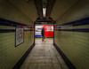 Waiting for the train (Daniel Coyle) Tags: blur london train underground nikon morningtoncrescent londonunderground northernline waitingforthetrain undergroundstation leadinglines undergroundtrain trainblur danielcoyle morningtoncrescentundergroundstation d3100 nikond3100