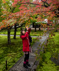 Momiji at Obai-in (∞ monkeys with cameras - in limbo/no mojo) Tags: lumix kyoto panasonic momiji gf3 obaiin daitokujitemplecomplex dmcgf3