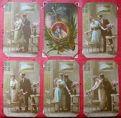 Cartes de poilus (Marie-Hélène Cingal) Tags: cartes poilus 19141918