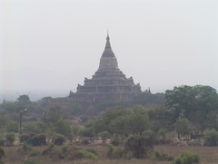 Bagan Pagoda in the Distance