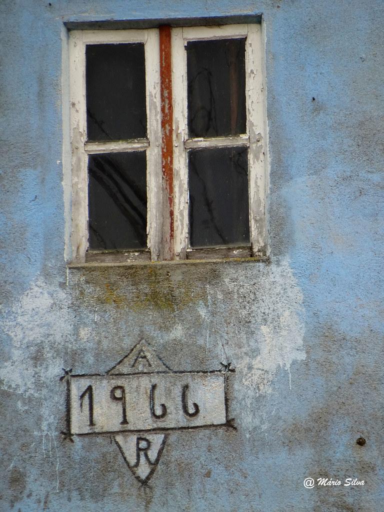 Águas Frias (Chaves) - ... a janela de 1966 ... ...