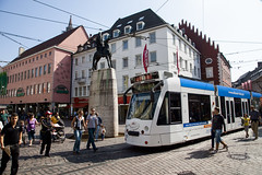 Tram Blue (Bill in DC) Tags: germany deutschland second freiburg trams schwarzwald strassenbahn 2010 eos5d2