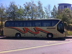 Williams coaches brecon (welsh coach) Tags: city summer west ex weather by swansea wales circle williams south centre cymru sunny east owned leisure parked brecon beacons seen luxury mid coaches powys abergavenny livery neoplan monmouthshire lc2 tourliner