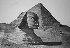 02_Giza Necropolis - Sphinx and the Pyramid of Cheops (usbpanasonic) Tags: sphinx desert northafrica egypt nile cairo nil giza egypte gizeh cheops مصر caire khefren misr pyramidsofgiza masr gizanecropolis khafra pyramidroad