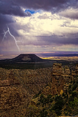Grand Canyon_lightning (S. Peterson) Tags: grandcanyon lightning stormclouds stevepeterson