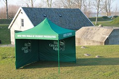 Quick Folding Tent in huisstijl Big Green Egg