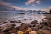 Coro Gold (Nick Twyford) Tags: newzealand seascape clouds sunrise rocks nz goldenhour coromandel eastcoast hahei leefilters nikond800 lee09nd lee06gndsoft nikkor160350mmf40 solmetageotaggerpro2
