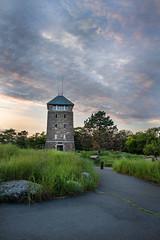 Perkins Tower@Bear Mountain State Park   NY   2014-07 (acharyyajoy) Tags: sunset mountain newyork landscapes bearmountain bearmountainstatepark perkinstower acharyyajoy joyacharyya