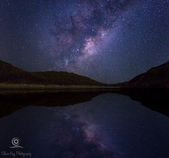 Galactic Reflections (Oliver Kay Photography) Tags: night landscape photography landscapes australia western milkyway