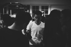 Whisky (fotosjojo) Tags: leica party people bw wine drink sony whisky summilux a7r