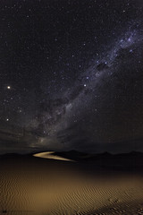 Milky Way over Namib Desert (daniel.osterkamp) Tags: milkyway stars night long exposure namib desert namibia africa sossusvlei star dune sand light painting
