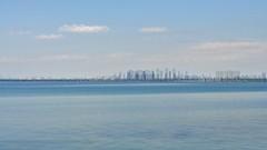 Blurred horizon (naromeel) Tags: toronto canada doubleexposure