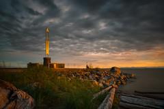 Fishermen's Memorial (iPhilFlash) Tags: fraserriver sunset water outdoor dusk vancouver beach clouds britishcolumbia cloud fishermensmemorial outdoors canada steveston sky garrypointpark richmond ca