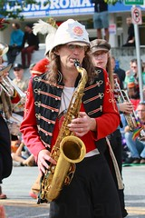 Fremont Solstice 2016  2267 (khaufle) Tags: solstice fremont wa usa marchingband parade saxaphone