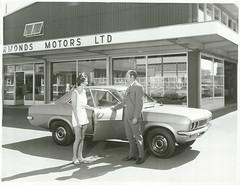 Vauxhall Car sale at Ormond's Motors Ltd, Gisborne (March 1971) (Archives New Zealand) Tags: archivesnewzealand archives archivesnz cars car vauxhall vauxhallmotors gisborne newzealand newzealandhistory nz nzhistory nationalpublicitystudios