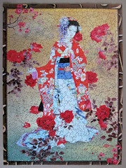 Flowers of the Orient (puzzle 3 - 500 pieces) (pefkosmad) Tags: girls art japan painting women hobby puzzle geisha leisure kimono jigsaw pastime 1000pieces onepiecemissing 500pieces flowersoftheorient haruyomorita expressgiftsltd webbivory mglukcom