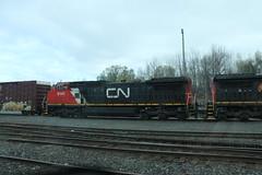 IMG_1676 (Locoponcho) Tags: canada cn train rail railway via viarail westbound cnr canadiannational traintrip cnrail thecanadian train1 ccmf