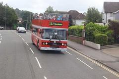 IMGB5124 Romeround A990XAF Poole 10 Jul 16 (Dave58282) Tags: bus dt northdevon a990xaf romeraround