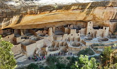 11th Century Stone Village, Mesa Verde National Park in Southwest Colorado (Gail K E) Tags: ancient culture anasazi nativeamericans colorado usa cliffdwellings cliffpalace mesaverdenationalpark southwest