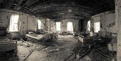 P4660576-Pano-2 (lewisfrancis) Tags: urbex abandoned decay damage stitchedpanorama panorama hospital