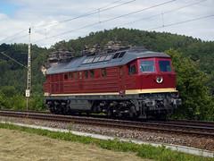 EVB 232 334 (jvr440) Tags: railroad train dresden evb locomotive railways trein spoorwegen ludmilla rathen kurort locomotief br232 br132