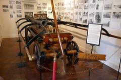 Hand Pumper (en tee gee) Tags: old fire hoses coldspringharbor handpumper