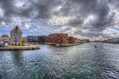 View to Christianshavn (KonHenrik) Tags: d7100 denmark danmark kbenhavn copenhagen christianshavn kyssebroen inderhavnsbroen hdr 2016 samyang8mm harbor