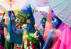 mermaids (greenelent) Tags: mermaidparade coneyisland coney costumes people women brooklyn streets 365 photoaday