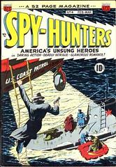 Spy Hunters 4 (Michael Vance1) Tags: art adventure artist anthology comics comicbooks cartoonist spy war silverage
