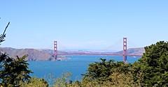 golden gate (bigsassysmurf) Tags: goldengatebridge marinheadlands pacificocean