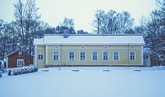 Viikki Manor (Jori Samonen) Tags: house houses building buildings manor winter snow trees viikki helsinki finland