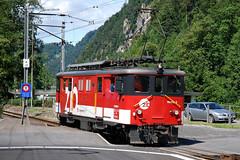 De 4/4 (The Transport Dictator) Tags: zentralbahn zb sbb zug bahn lok triebwagen railcar rail train switzerland deh44 de44 interlaken