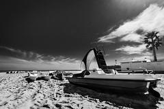 Bianco e Nero (SDB79) Tags: roseto degli abruzzi abruzzo mare biancoenero spiaggia pedal primavera