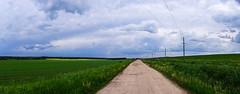 Cloud way (aaBocharov) Tags: way road landscape clouds nature summer rain rues et routes du monde