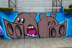 Piggies (Dutch_Chewbacca) Tags: graffiti berenkuil eindhoven rockcity art 040 noordbrabant netherlands dutch holland spray can colors canon dlsr sigma 23 july 2016 summer saturday weekend pretty street legal pigs