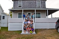 Family Photo At The Cottage (Joe Shlabotnik) Tags: annm carolina rich verne davidb maine july2016 johnm davidm violet higginsbeach judyb sue nancy gabriella phyllis helent dylans 2016 margaret diego katem everett afsdxvrzoomnikkor18105mmf3556ged