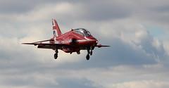 Red Return (hanley27) Tags: redarrows rafscampton jet aircraft plane canon70200mm l f4 14x
