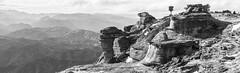 Bell Rock (1015m), Hawkes Bay, NZ - 21/8/16 (Grumpy Eye) Tags: nikon d7000 nikkor 24mm 14 bell rock hawkes bay black white