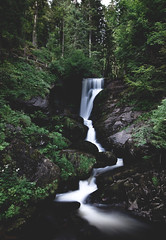 Triberg Waterfall (Sandra Ahn Mode) Tags: triberg waterfall germany blackforest longexposure enjoygermannature visitgermany germanytourism forest travel landscape nature