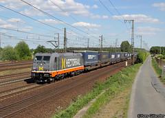 Hectorrail 241 012, Wunstorf 12.05.2016 (Trainspotting-Wiki) Tags: hectorrail 241 012 wunstorf chewbacca samskip van dieren