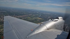 D-INKA De Havilland D.H.104 Dove (foto-metkemeier.net) Tags: ltuclassics dinka dehavillanddove luftbilderruhrgebiet luftbilderduisburg luftbilderessen luftbildercrangerkirmes crangevonoben rundflug ruhrgebiet