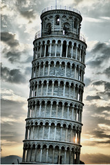 The Leaning Tower of Pisa (Neal J.Wilson) Tags: pisa towers tuscany italy europe renaissance travel sightseeing tourism buildings famous nikon d3200 clouds dawn sunrise leaning